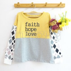 Faith Hope Love Sweater (mustard) - ecer@70rb - seri4w 260rb - babyterry - fit to L