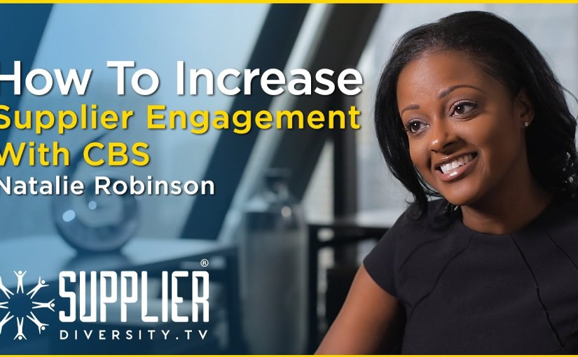 S02:E06 – How To Increase Supplier Engagement With CBS, With Natalie Robinson