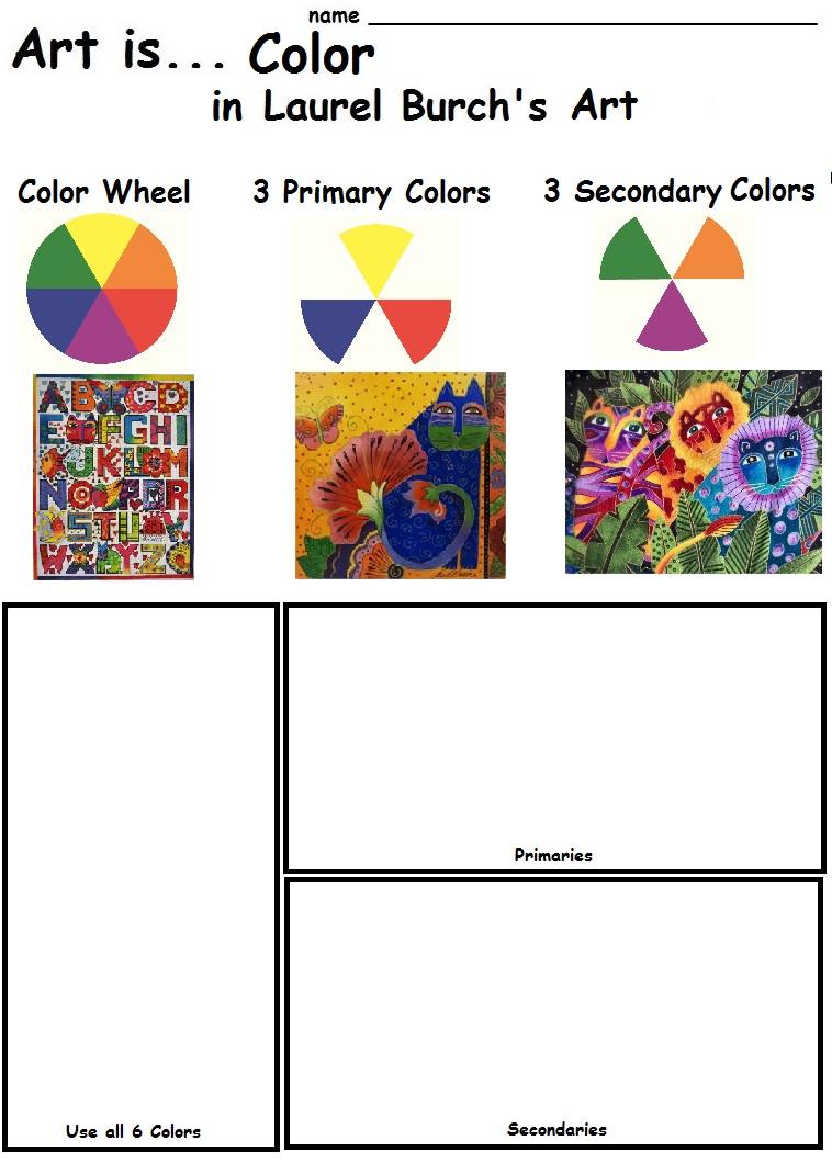 The Smartteacher Resource Art Is Color In Laurel Burch