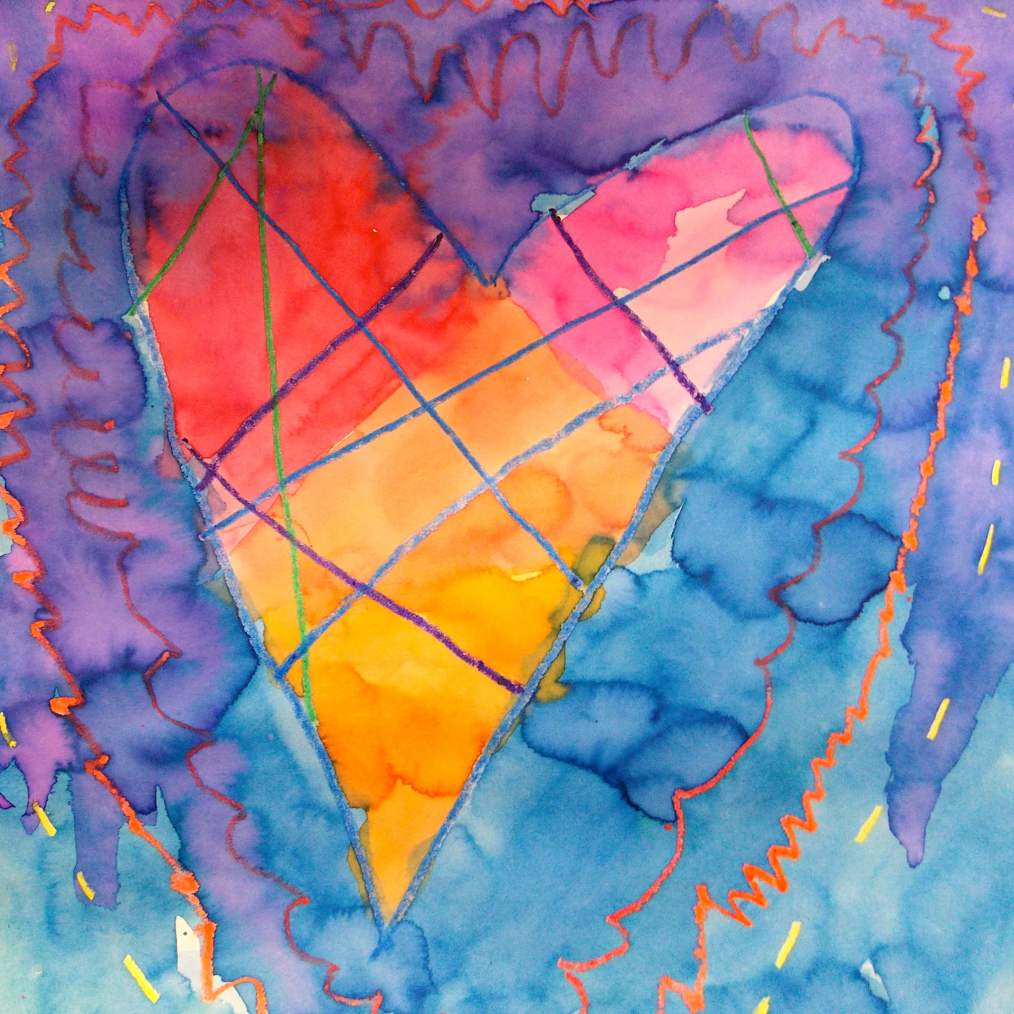 The Smartteacher Resource Watercolor Hearts