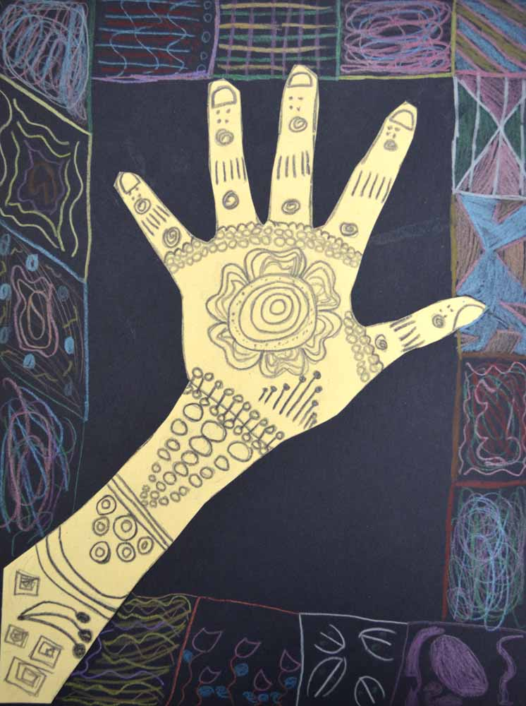 The Smartteacher Resource Mehndi Hands Choose Your Own