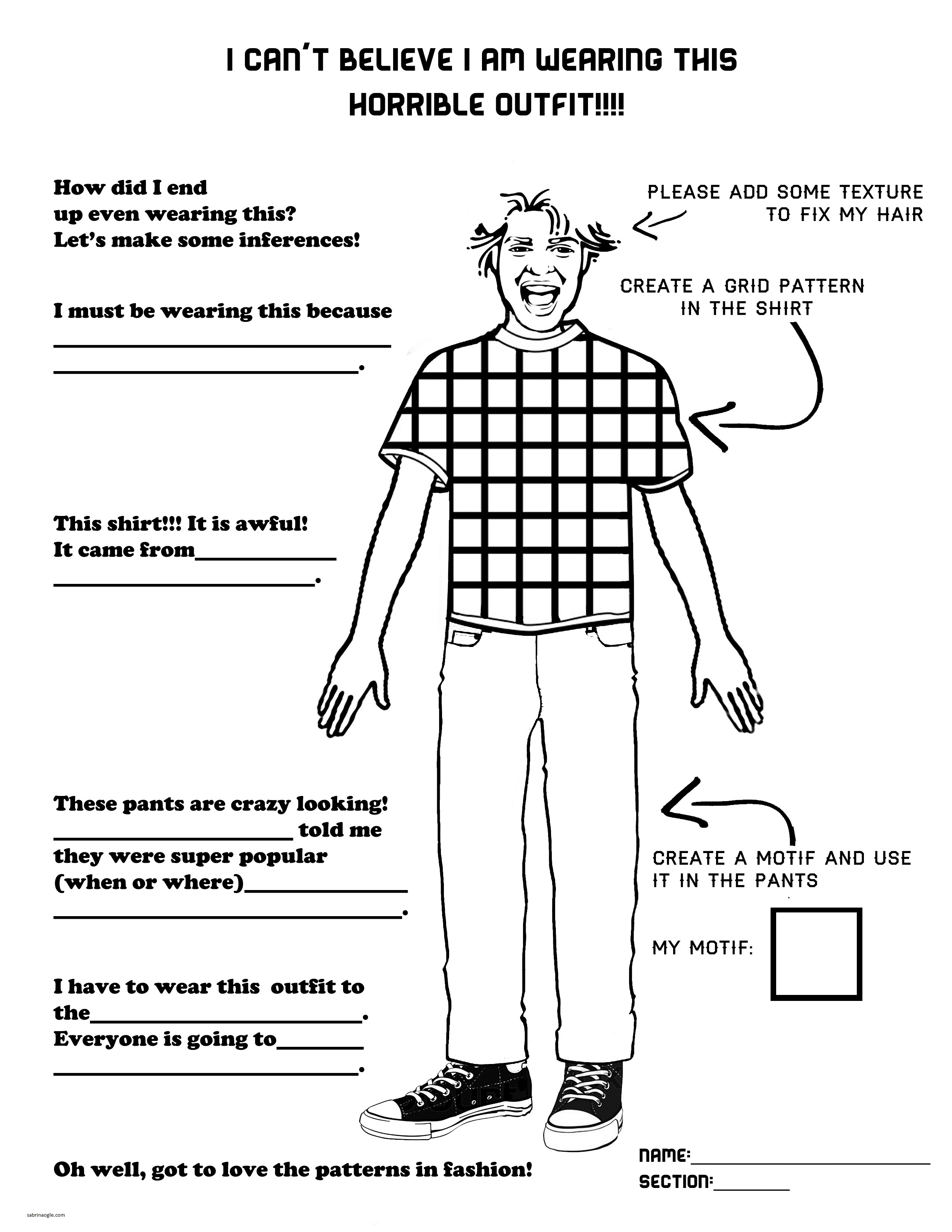 The Smartteacher Resource Horrible Outfits