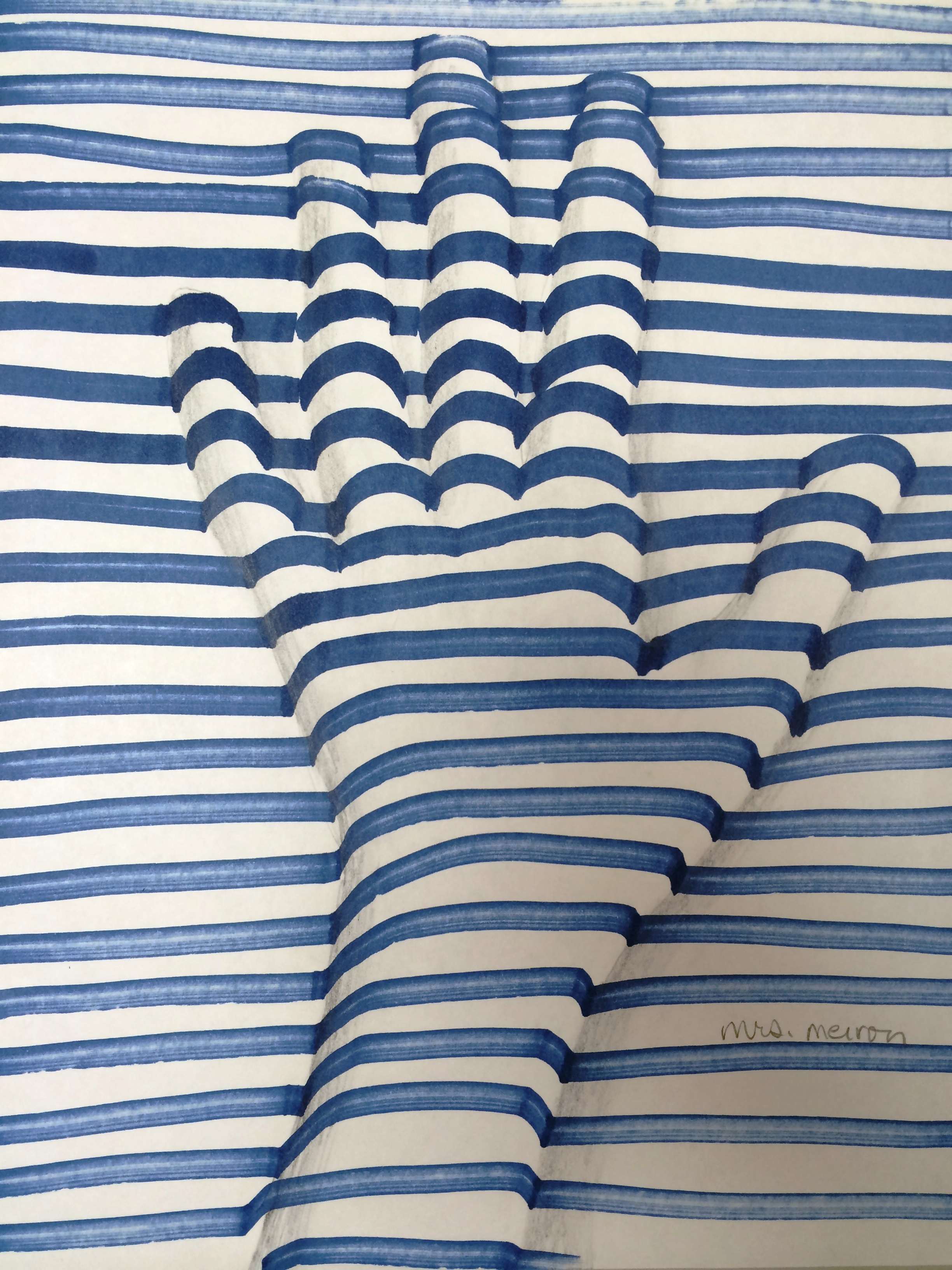 The Smartteacher Resource Op Art Hand