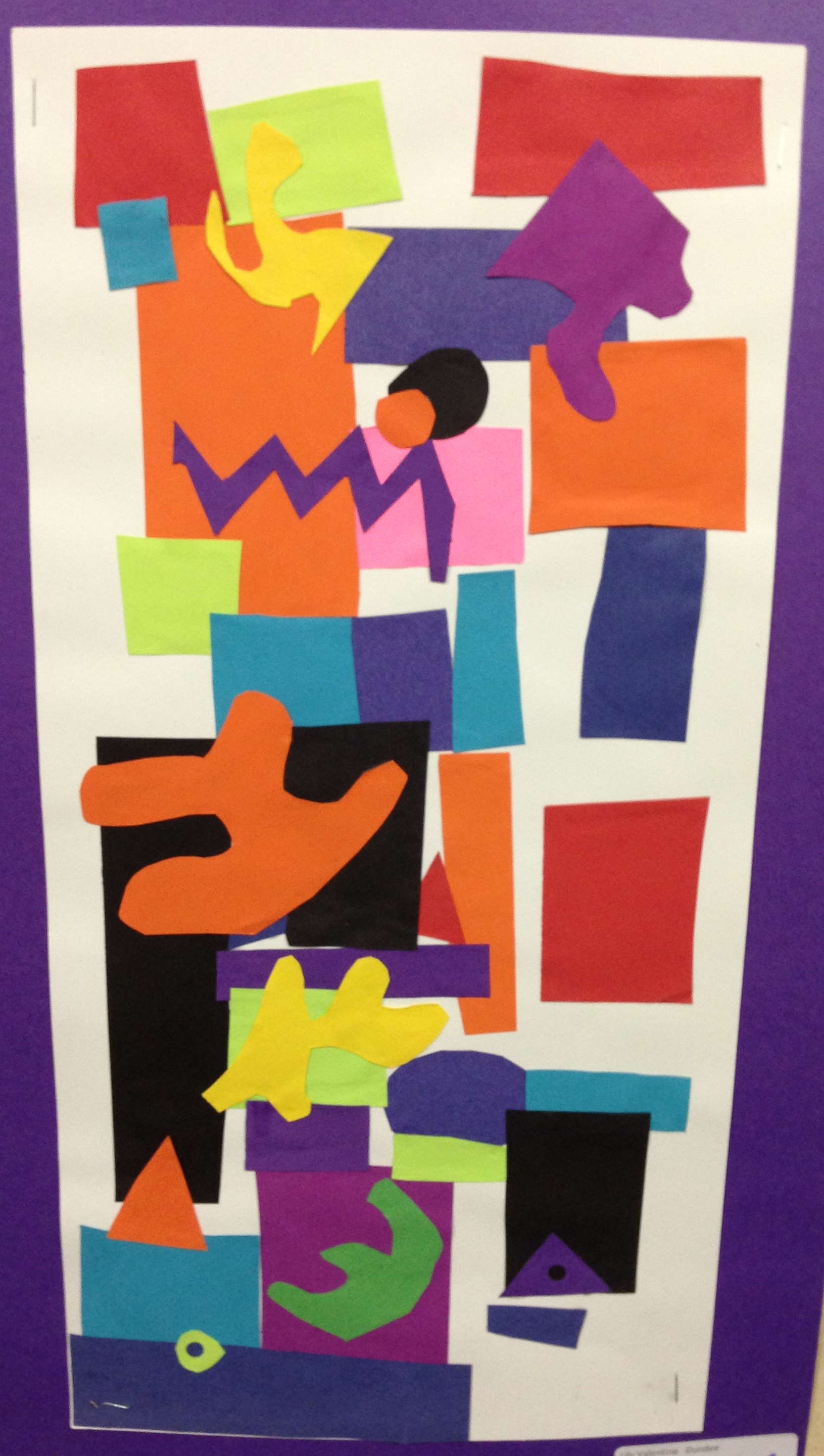 The Smartteacher Resource Matisse Inspired Collage