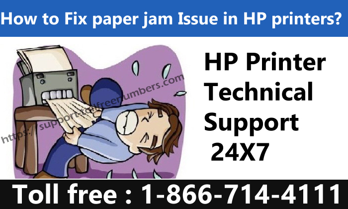 how to fix paper jam issues in hp printer