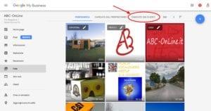 Google My Business foto 3 cerca le foto dei clienti