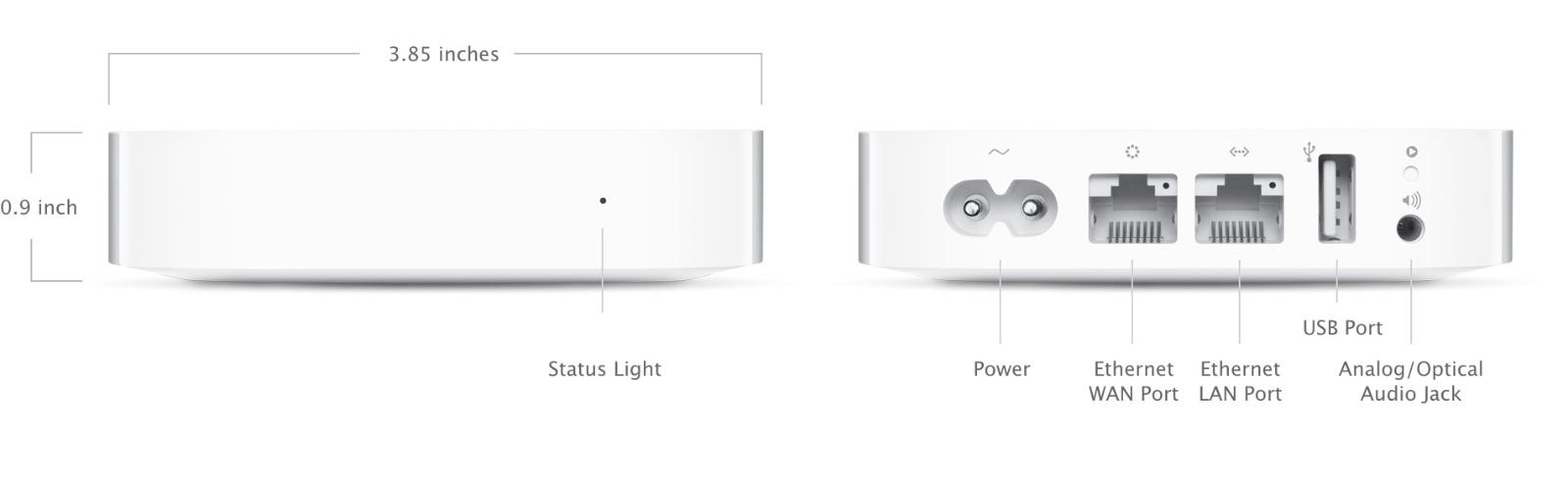 Airport Express 802 11n 2nd Generation Technical Specifications