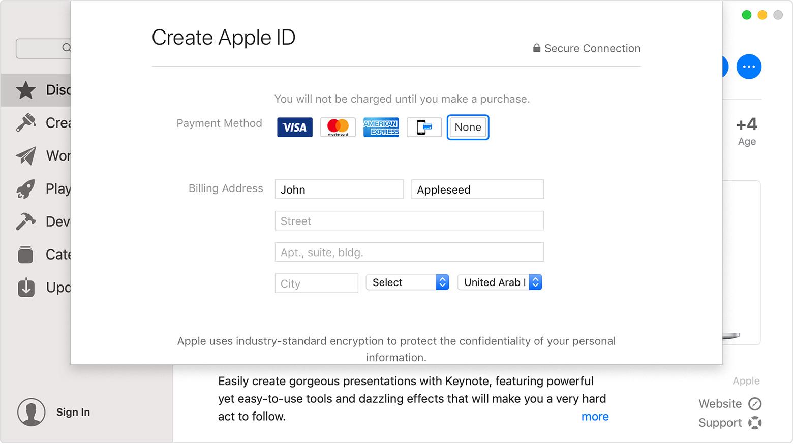 عمل حساب Apple Id امريكي مجاني للدخول الى م جر App Store و نزيل ال