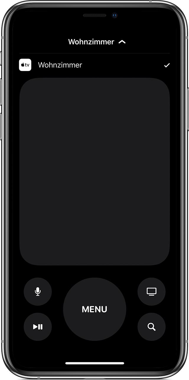 Apple Tv Remote Auf Deinem Iphone Ipad Oder Ipod Touch Einrichten Apple Support