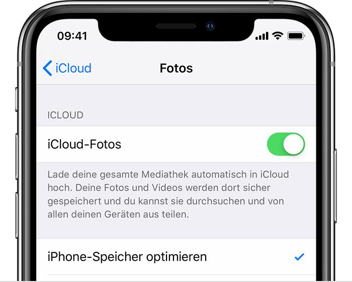 Mit Dem Iphone Ipad Oder Ipod Touch Auf Icloud Fotos Zugreifen Und Inhalte Anzeigen Apple Support