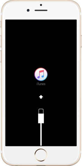 Risultati immagini per iphone recovery mode