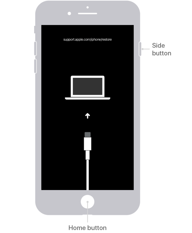Ja esat aizmirsis iPhone ieejas kodu vai jūsu iPhone ierīce ir