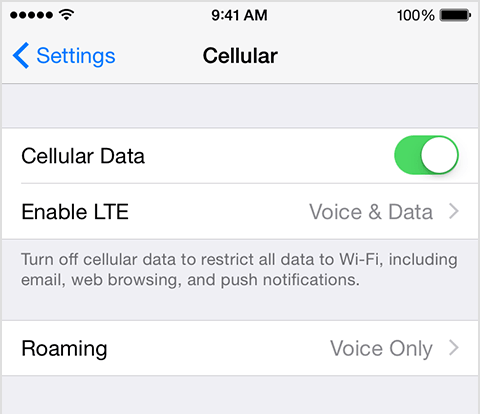 Make calls using Voice over LTE (VoLTE) on iPhone 6 and iPhone 6 Plus - Apple Support