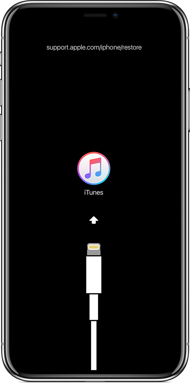 If you see the Connect to iTunes screen on your iPhone  iPad  or     connect to iTunes screen
