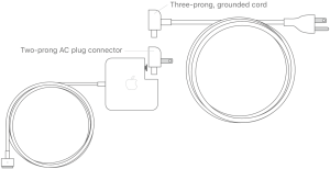 Reduce cable strain on your MagSafe power adapter  Apple