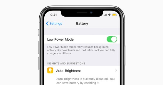 Image result for low power mode in iphone xs
