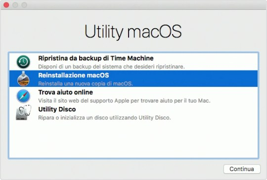 Finestra Utility macOS