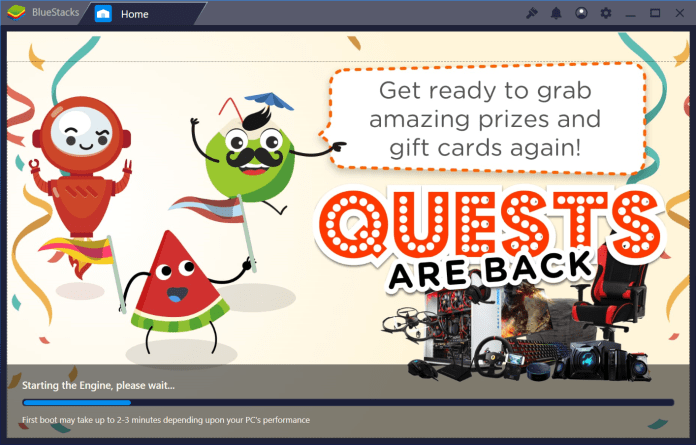 BlueStacks download on pc