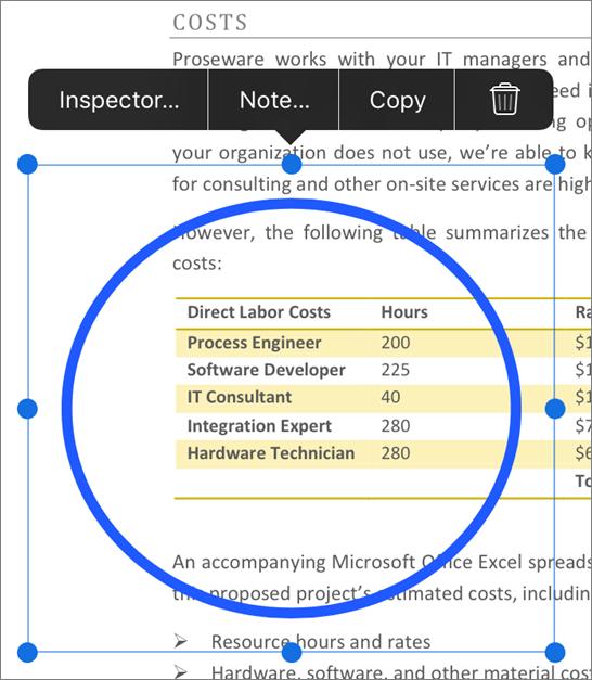 Edit PDF markup