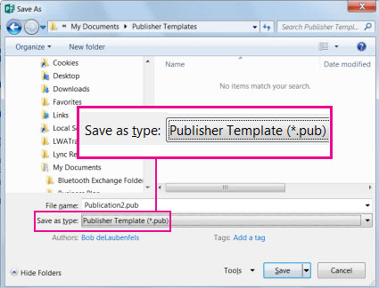 Save your publication as a template for reuse. www.office.com/setup