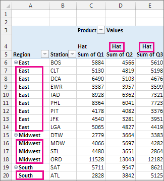 how to repeat text in excel