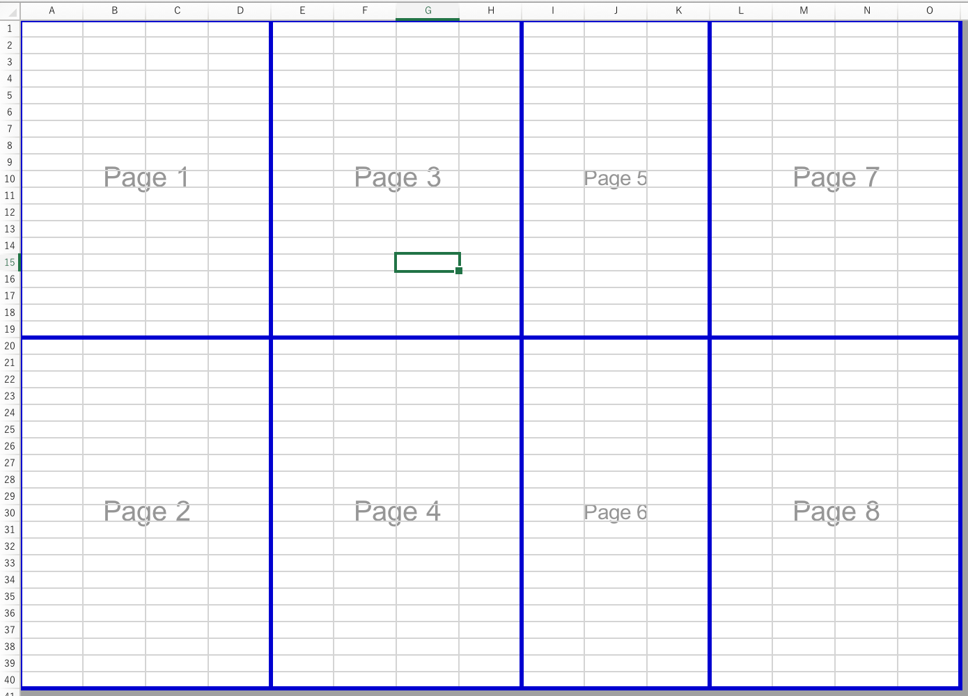 Create Manual Page Breaks In A Worksheet With Excel For Mac