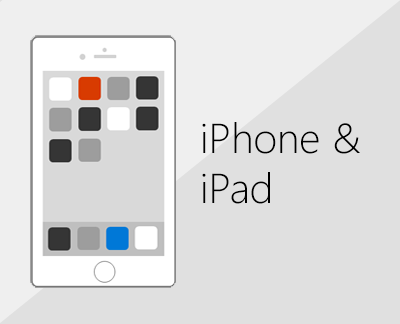 Click to set up Office and email on iOS devices