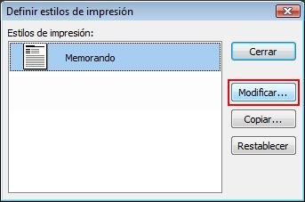 En el cuadro de diálogo Definir estilos, haga clic en Editar.
