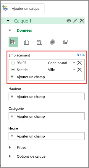 Code postal reconnu comme code Postal