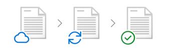 Image conceptuelle de fichiers à la demande