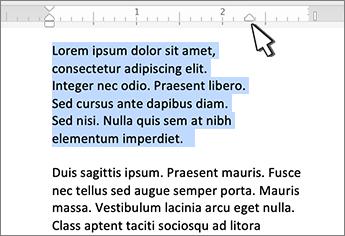 Seilmarkierung rechts für Mac