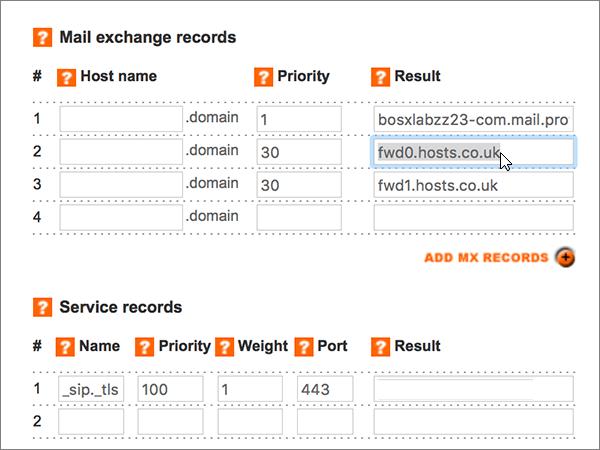 在 Register365 建立 Office 365 的 DNS 記錄 - Office 365