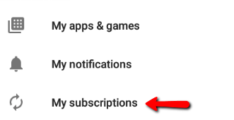 How do I cancel my Android/Google Play Store subscription ...