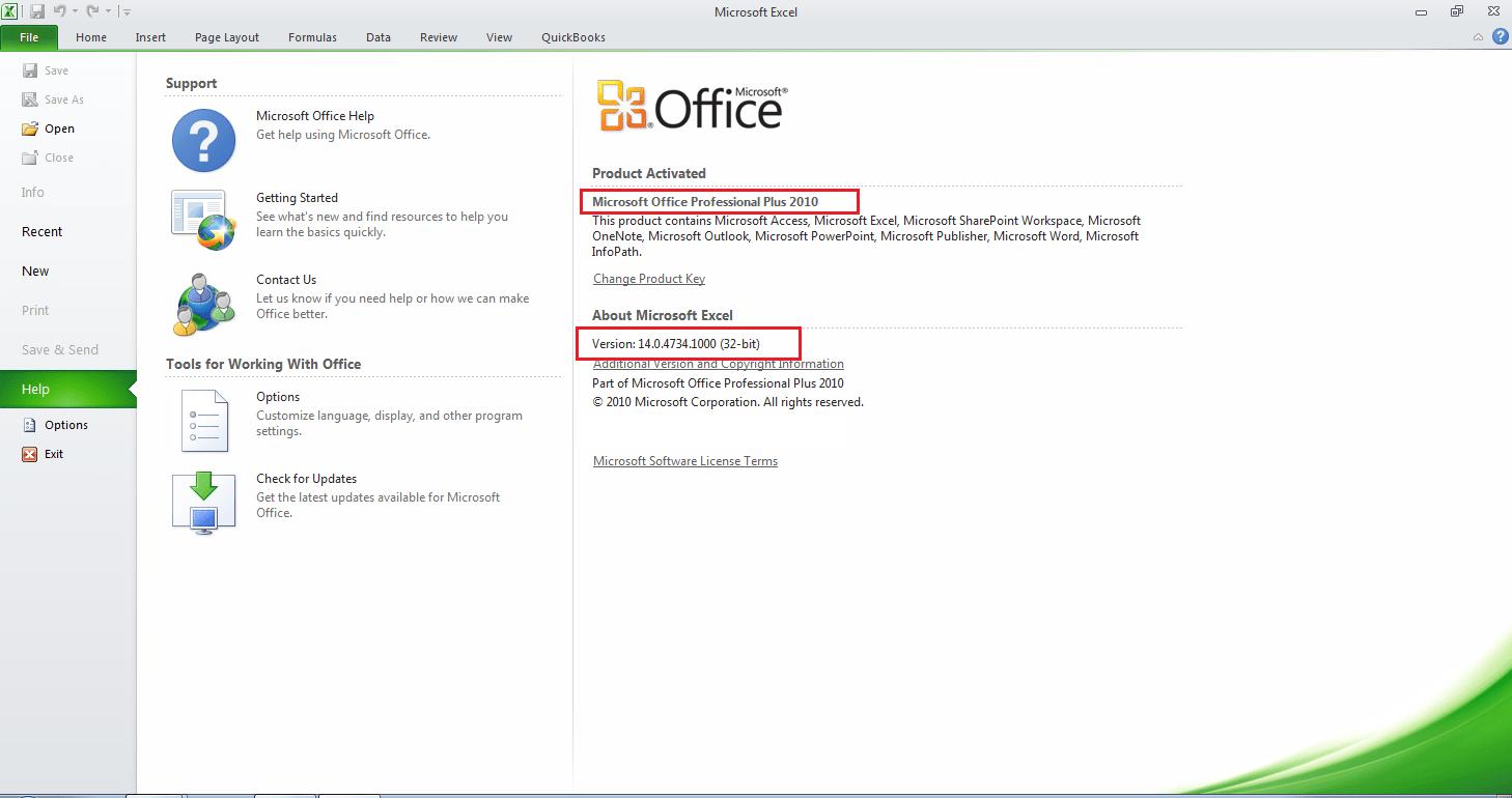 Qodbc Desktop Qodbc And Microsoft Excel