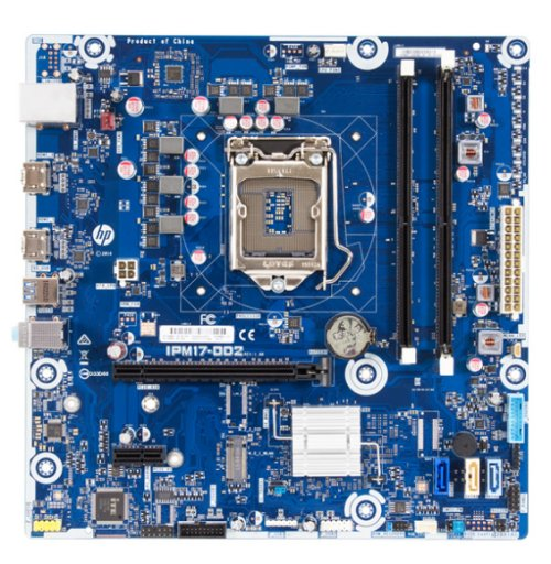 Odense2-K motherboard top view