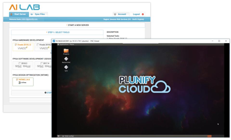 AI Lab Virtual Cloud Desktop