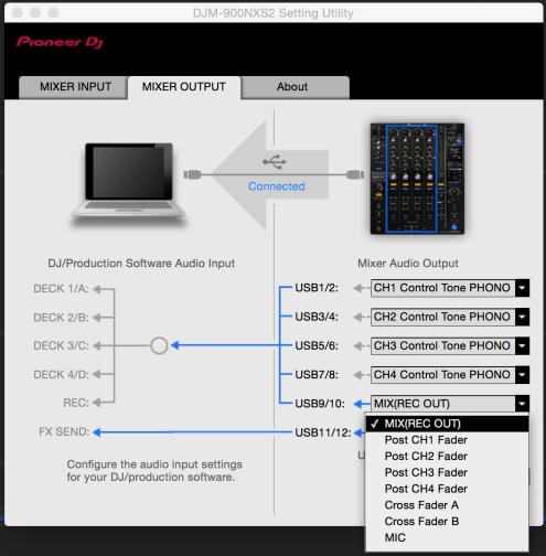 djm 900nxs2 setting utility