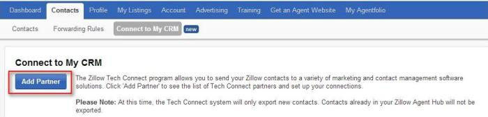 zillowconnecttocrm