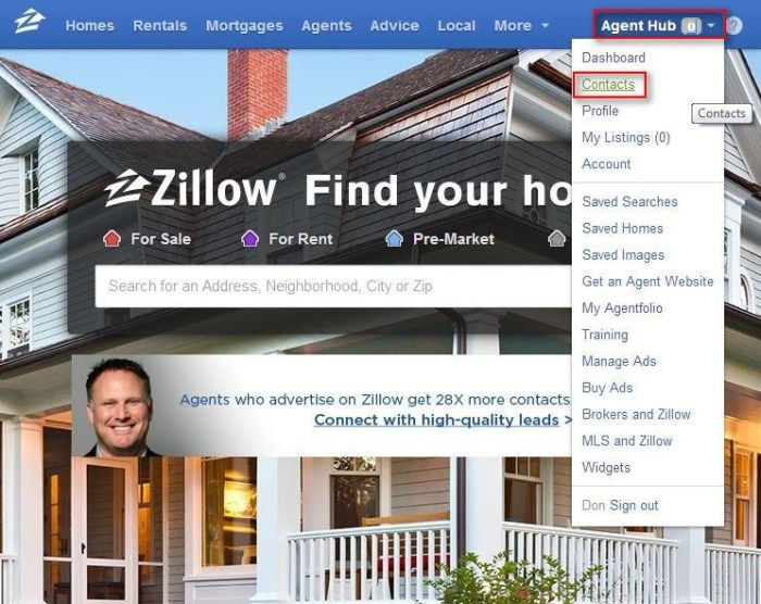 zillowcontacts