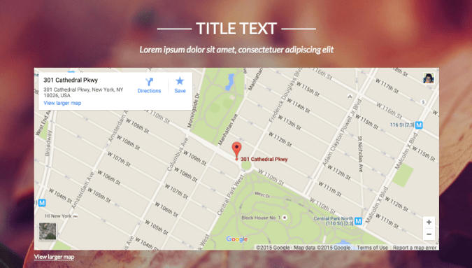 Embed Google Map     Strikingly Help Center Can I embed a map with multiple points or a route