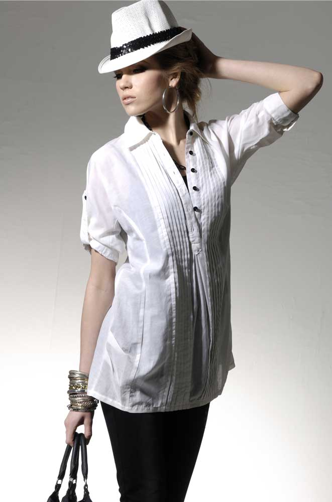 White Short Sleeve