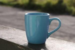 a mug to show size