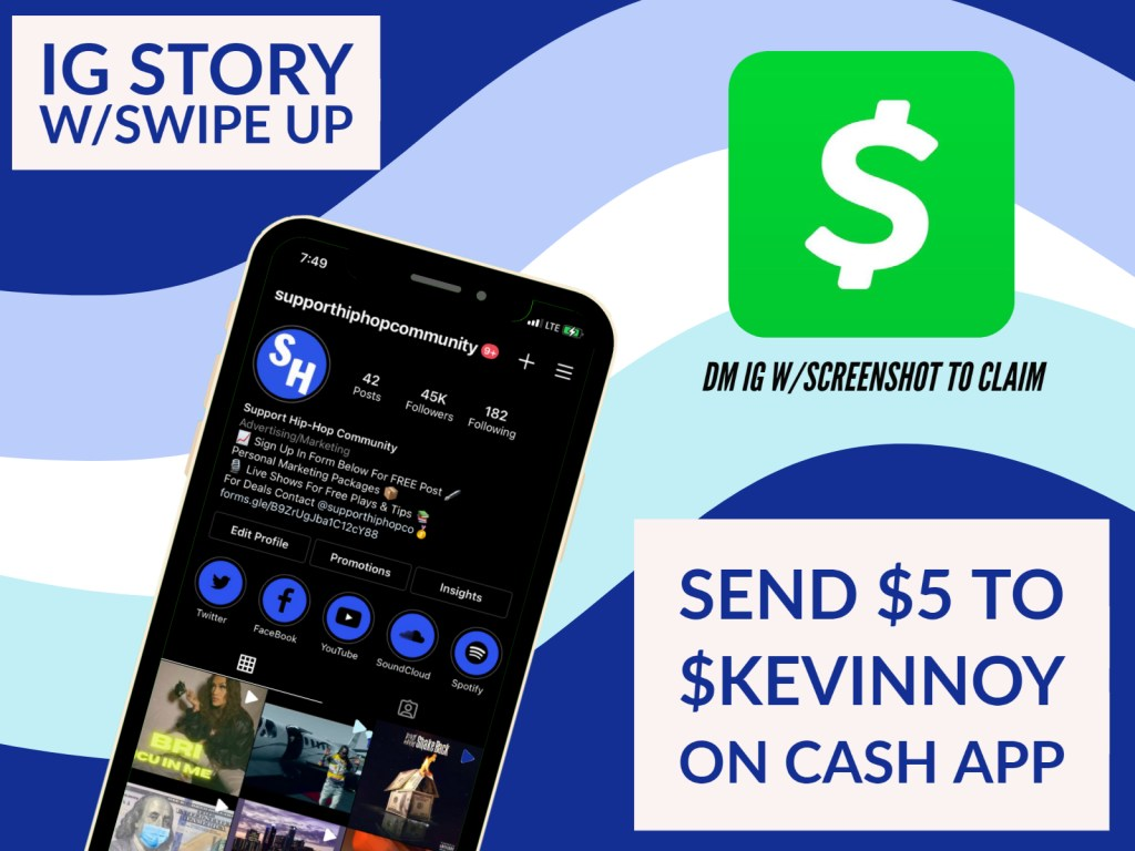 ig story swipe up