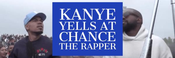 kanye and chance 1