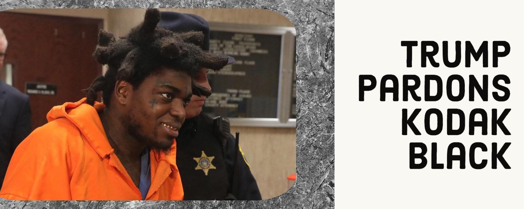 trump pardon kodak black