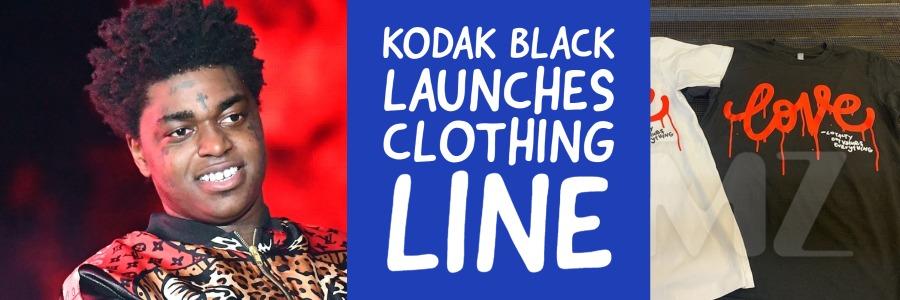 kodak black launches clothing line banner
