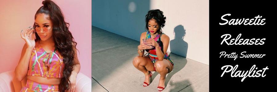 saweetie releases pretty summer playlist after quavo breakup