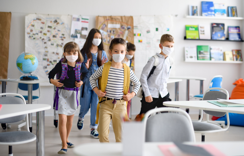 Masks For Everyone in the Classroom, says CDC