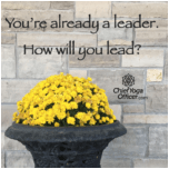 You're already a leader