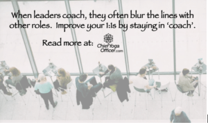 The Blurred Lines of Coaching Conversations